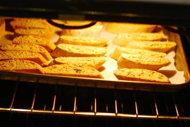 Toasting almond